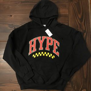 NWT Medium Men's Hype Hooded Sweatshirt